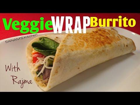 Veggie Wrap Burrito - Quick and Easy