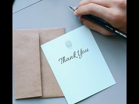 how to write thank you letter after interview.