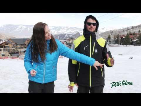 2015 Spyder Men's Leader Ski Jacket Review by Peter Glenn