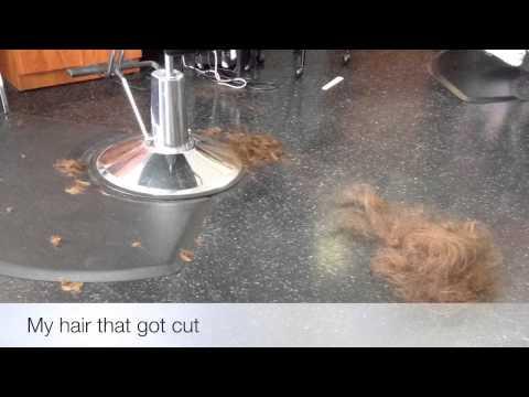 I got my hair thinned| Sarah