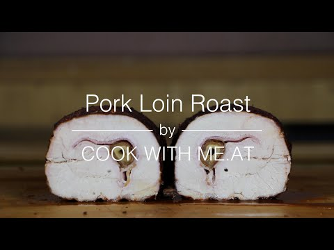 Pork Loin Roast - Stuffed with Bacon and Dates - COOK WITH ME.AT