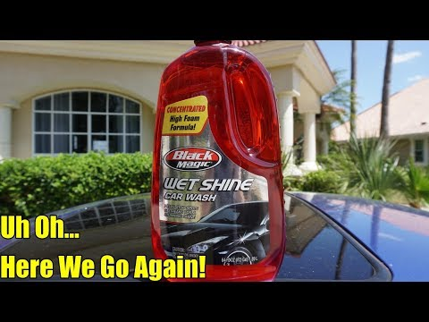 Black Magic Wet ShineCar Wash Concentrated 2018 Review on my Honda Prelude.