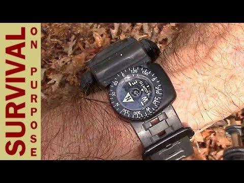 How To Use The Suunto Clipper Watchband Compass