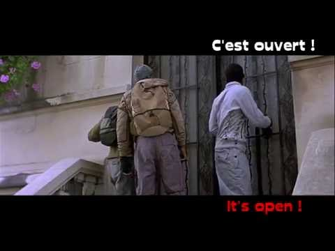 FRENCH LESSON - learn french with a french movie - Yamakasi part3