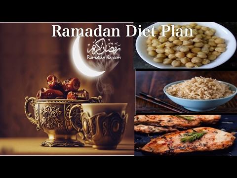 Ramadan Meal Plan / Ramadan Weight Loss Diet plan | How to Lose Weight Fast in Ramadan / 30 Days