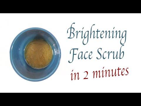 Face Whitening Scrub for Oily Skin