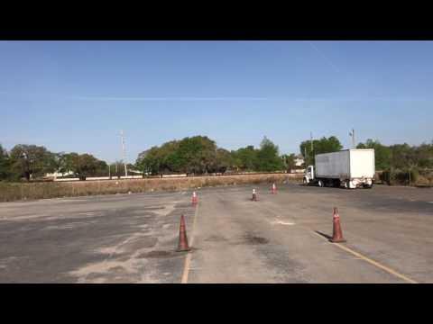 CDL (Commercial Drivers License) тренировочная площадка