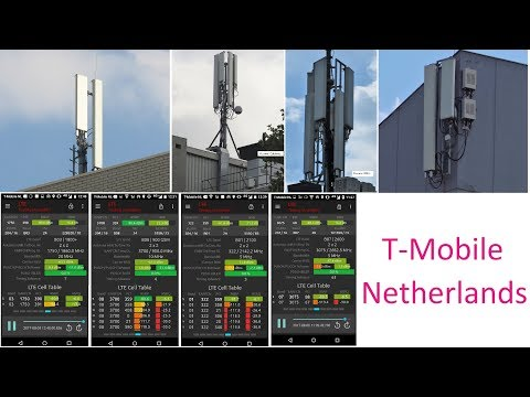 T-Mobile Netherlands 4G FDD Network Infrastructure: GUL Spectrum, Huawei RAN, Physical Sites