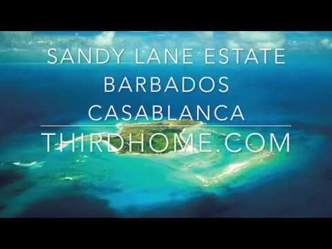 THIRDHOME: 15729 Sandy Lane Estate Barbados Casablanca Beach