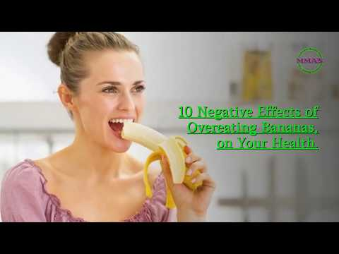 10 Negative Effects of Overeating Bananas, on Your Health