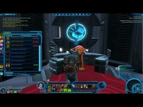 SWTOR Collector's Edition Vendor and Items!