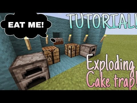 How to make exploding CAKE TRAP!