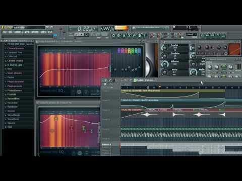 FL Studio - Bass (3x Osc) Electro House, Minimal House