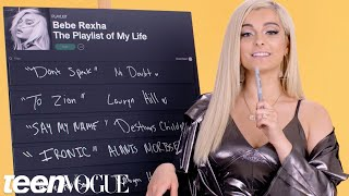Bebe Rexha Creates the Playlist to Her Life   Teen Vogue