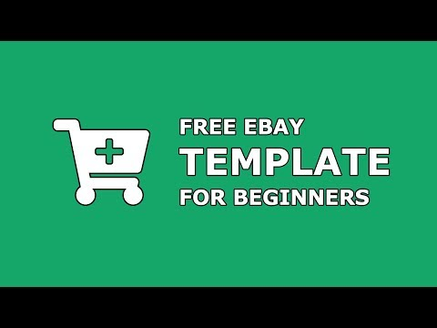 Free eBay Template for Beginners - Create Professional eBay Listings