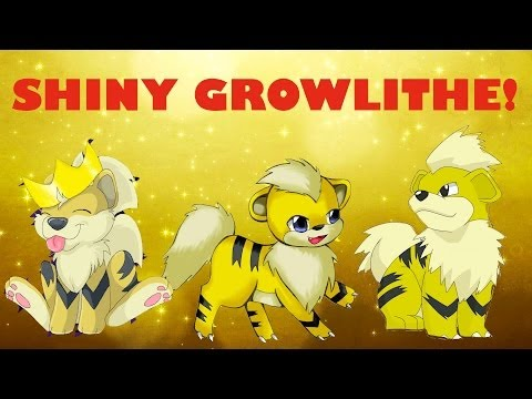 (Phase 3) Shiny Growlithe on Pokemon Black 2 after 4,041 random encounters!!