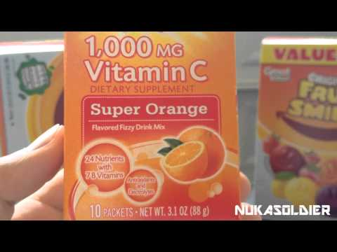 Should You Be Prepping Vitamin C For SHTF??? - A Preppers Advice