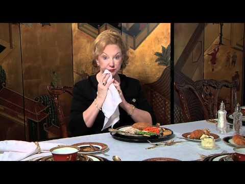 Dinner Etiquette: Entree