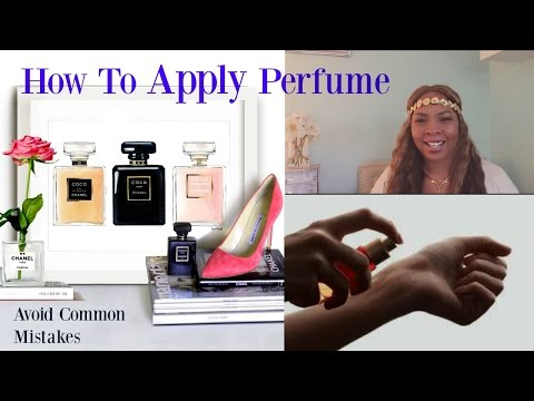 How To Make Your Perfume Last All Day! DIY