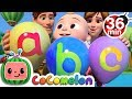 ABC Song With Balloons More Nursery Rhymes amp Kids Songs CoCoMelon