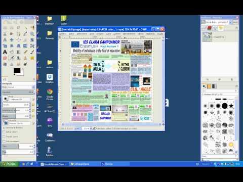 Cómo convertir un archivo pdf a jpg con GIMP.
