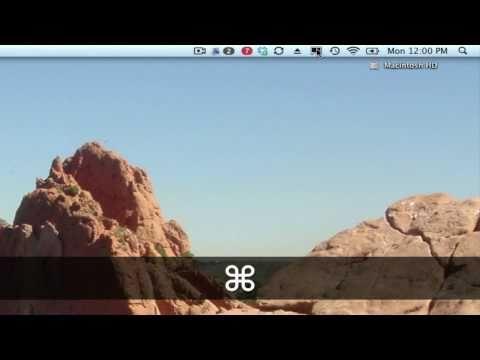 How Do I Remove Menu Bar Icons in Mac OS X?