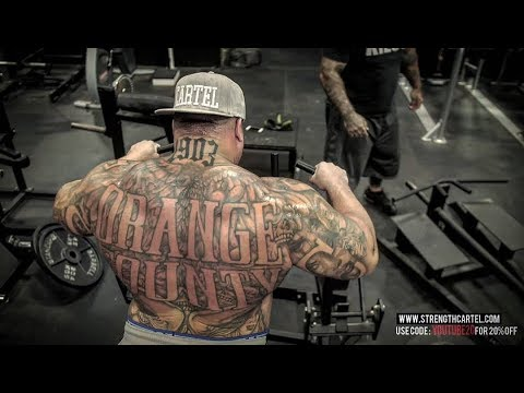 20 PULL UPS IN A ROW AT 326 POUNDS | HOW TO BUILD BIG LATS |  BACK WORKOUT - BIG BOY