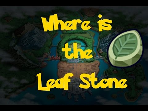 Where Is: The Leaf Stone (Location 2) (Pokemon Black 2/White 2)