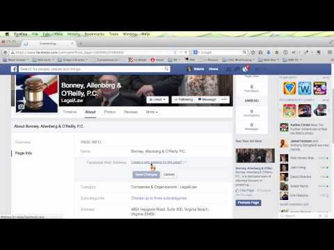 How to Set Vanity URL on Facebook