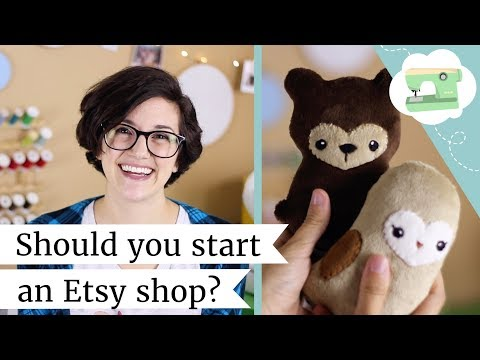 Should you start an Etsy shop? Selling, Shipping, and Pricing Handmade   @laurenfairwx