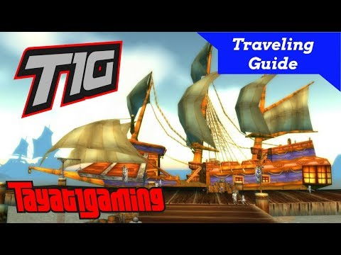 World of Warcraft - Traveling Guide - How to get from Theramore/Dustwallow Marsh to Wetlands