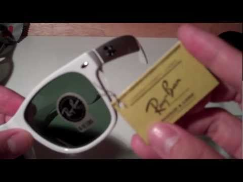 How to Spot Fake Ray Ban Wayfarers (model: RB2140)