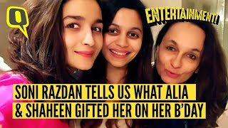 On Her Birthday Soni Razdan Tell Us the Rituals at the Bhatts | The Quint