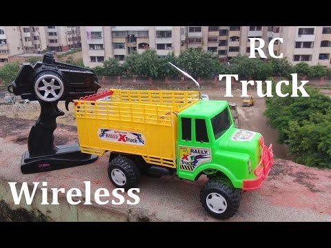 How to make a wireless Remote Control Truck | Shamshad Maker