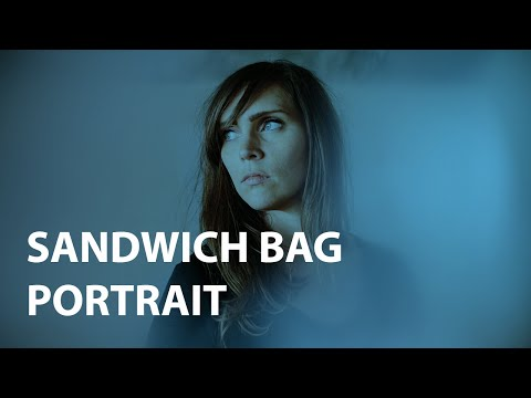 Sandwich Bag Portrait : Creative Photography Challenge Episode #3