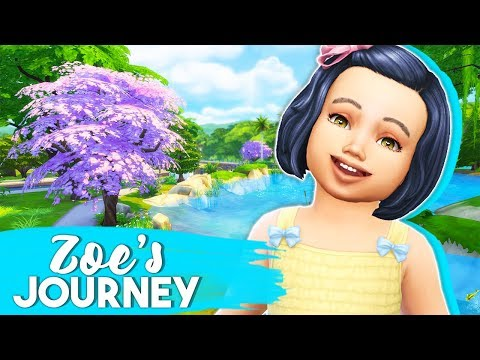FUTURE FAMOUS YOUTUBER!?🎥 // THE SIMS 4 | ZOE'S JOURNEY #5