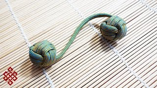 Download How to Make a Monkey's Fist Paracord Begleri Fidget Toy Tutorial Video