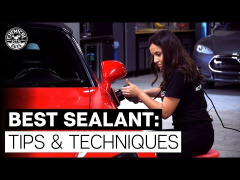 What Is A Sealant and What Is A Wax? - Chemical Guys