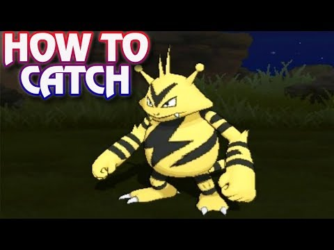 Pokemon Ultra Sun and Ultra Moon - How To Catch Electabuzz & Elekid