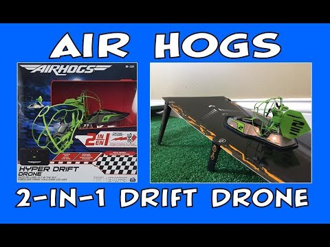 Air Hogs 2-in-1 Drive & Fly Hyper Drift Drone Unboxing & Review