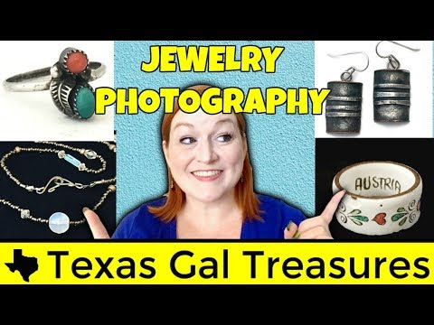 How to Take Pictures of Jewelry for Listings on Ebay and Etsy