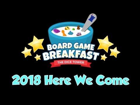Board Game Breakfast - 2018, Here We Go!