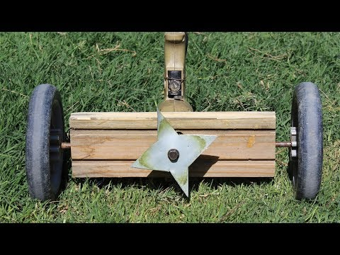 How to Make a Powerful Grass Cutter Using Drill Machine