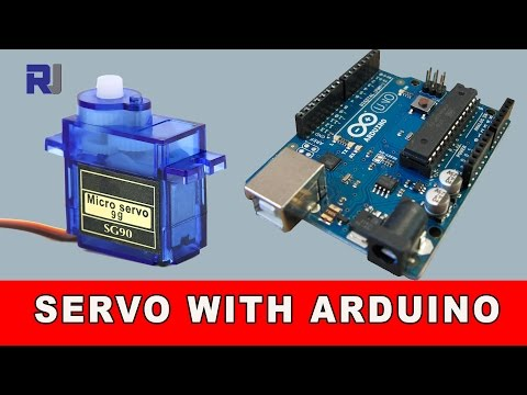 How to control Servo motor with Arduino with and without potentiometer
