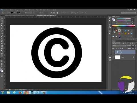 Tu copyright en Photoshop con un solo click