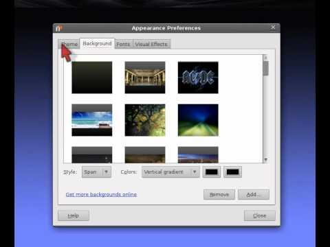 change mouse pointer in ubuntu lucid or maverick