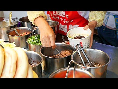 Chengdu Street Food - Dan Dan Noodles and Sliced Fatty Pork Noodles