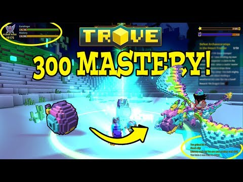 Trove: MAX MASTERY FINALLY! + MY FAVORITE DRAGON EVER!!