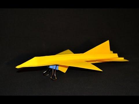 Origami: Airplane Super Realistic - F 16 Fighting Falcon