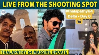THALAPATHY 64 Second Schedule Started with a Massive Update  Thalapathy Lokesh Kanagaraj LittleTalks